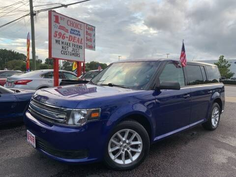2013 Ford Flex for sale at 1st Choice Auto Sales in Newport News VA
