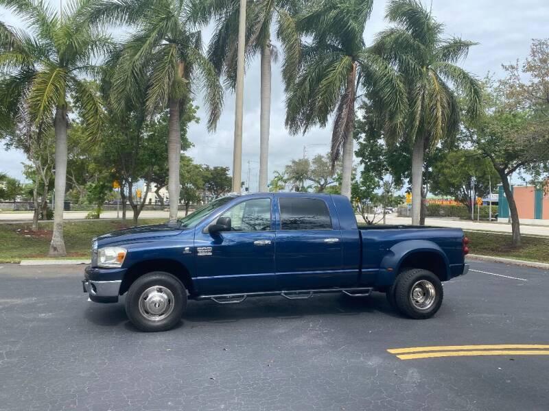 2007 Dodge Ram Pickup 3500 for sale at BIG BOY DIESELS in Ft Lauderdale FL