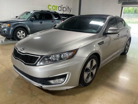 2012 Kia Optima Hybrid for sale at Cardipity in Dallas TX