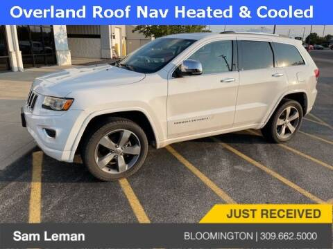 2015 Jeep Grand Cherokee for sale at Sam Leman Mazda in Bloomington IL
