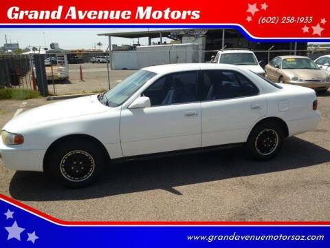 1996 Toyota Camry for sale at Grand Avenue Motors in Phoenix AZ