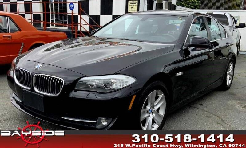 2013 BMW 5 Series for sale at BaySide Auto in Wilmington CA
