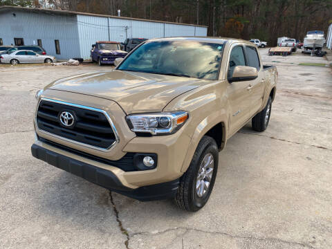 2017 Toyota Tacoma for sale at Elite Motor Brokers in Austell GA