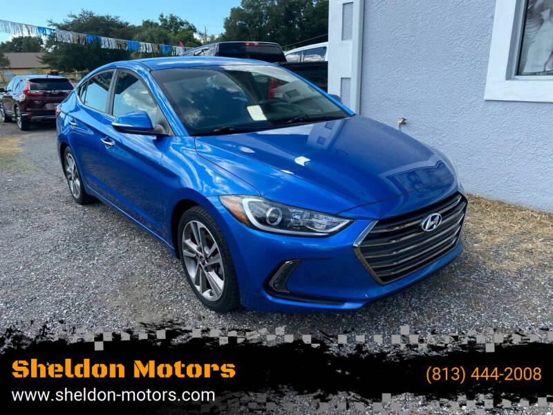 2017 Hyundai Elantra for sale at Sheldon Motors in Tampa FL