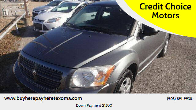 2011 Dodge Caliber for sale at Credit Choice Motors in Sherman TX