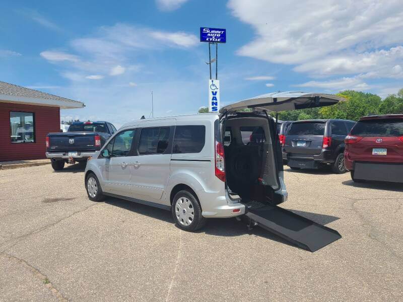 2020 Ford Transit Connect Wagon for sale at Summit Auto & Cycle in Zumbrota MN