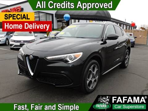 2018 Alfa Romeo Stelvio for sale at FAFAMA AUTO SALES Inc in Milford MA