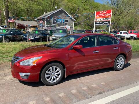 2013 Nissan Altima for sale at Korz Auto Farm in Kansas City KS