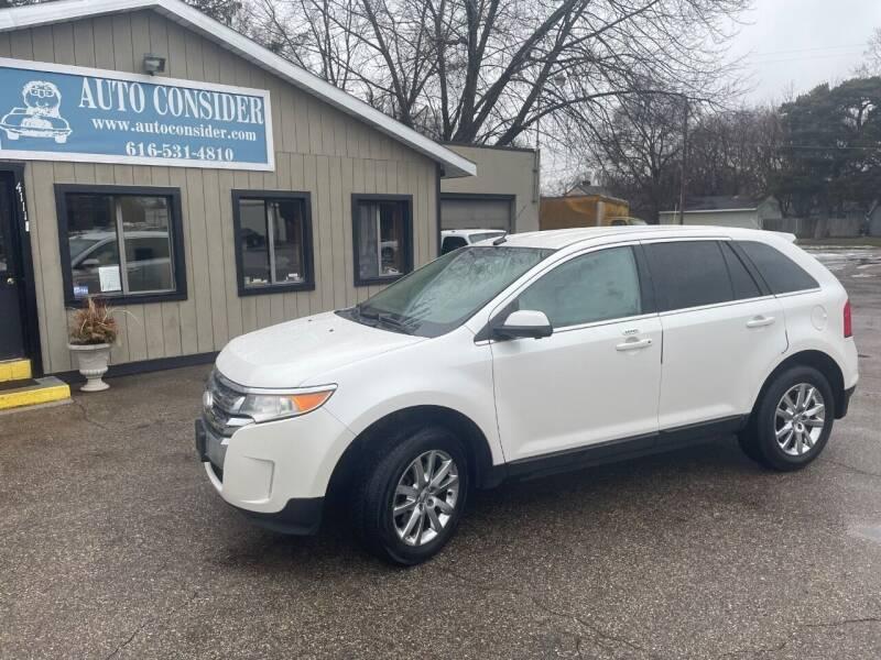2013 Ford Edge for sale at Auto Consider Inc. in Grand Rapids MI