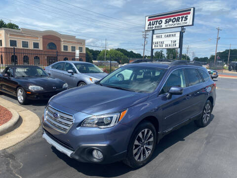 2017 Subaru Outback for sale at Auto Sports in Hickory NC