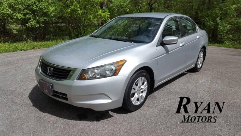 2008 Honda Accord for sale at Ryan Motors LLC in Warsaw IN