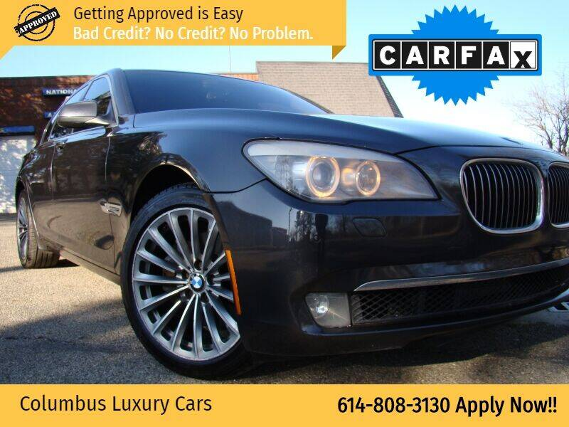2011 BMW 7 Series for sale at Columbus Luxury Cars in Columbus OH
