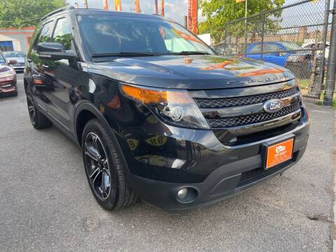 2015 Ford Explorer for sale at TOP SHELF AUTOMOTIVE in Newark NJ