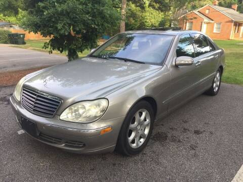 2004 Mercedes-Benz S-Class for sale at Deme Motors in Raleigh NC