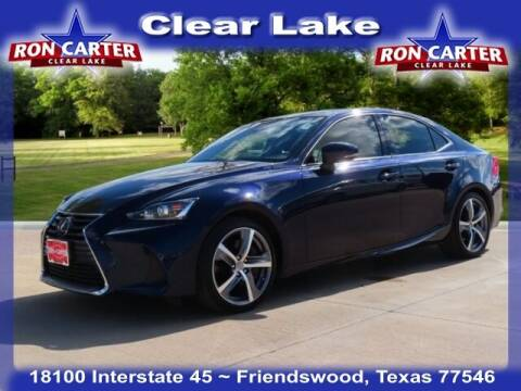 2017 Lexus IS 200t for sale at Ron Carter  Clear Lake Used Cars in Houston TX