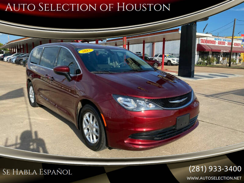 2017 Chrysler Pacifica for sale at Auto Selection of Houston in Houston TX