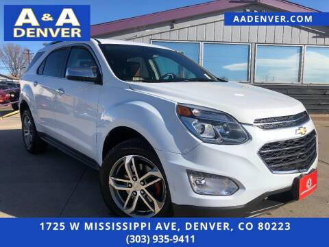 2016 Chevrolet Equinox for sale at A & A AUTO LLC in Denver CO