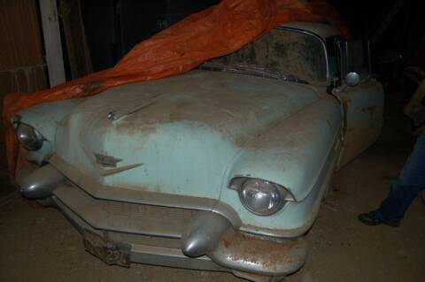 1956 Cadillac DeVille for sale at Haggle Me Classics in Hobart IN