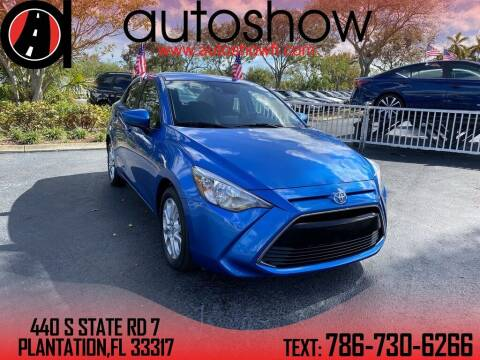 2017 Toyota Yaris iA for sale at AUTOSHOW SALES & SERVICE in Plantation FL