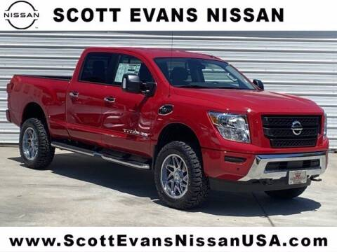 2020 Nissan Titan XD for sale at Scott Evans Nissan in Carrollton GA
