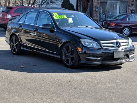 2011 Mercedes-Benz C-Class for sale at United Auto Service in Leominster MA