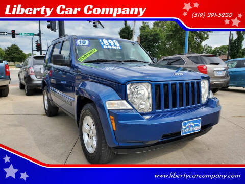 2010 Jeep Liberty for sale at Liberty Car Company in Waterloo IA