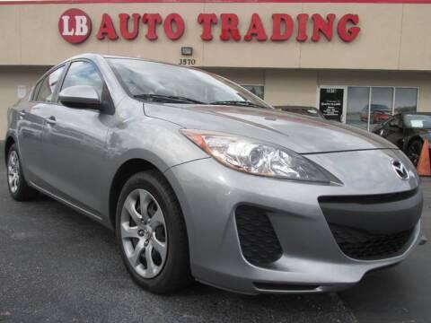2012 Mazda MAZDA3 for sale at LB Auto Trading in Orlando FL