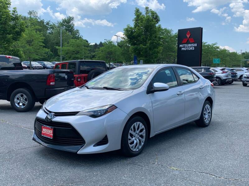 2018 Toyota Corolla for sale at Midstate Auto Group in Auburn MA