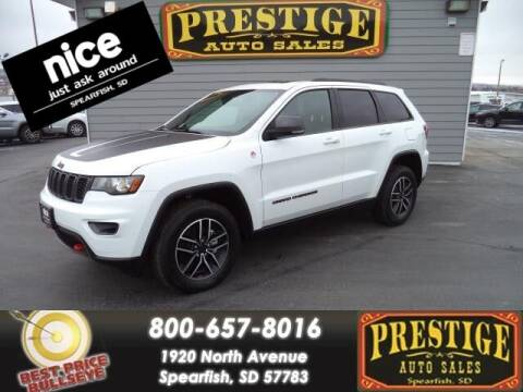2020 Jeep Grand Cherokee for sale at PRESTIGE AUTO SALES in Spearfish SD