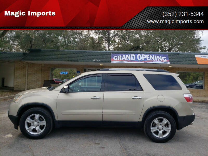 2012 GMC Acadia for sale at Magic Imports in Melrose FL