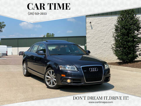 2011 Audi A6 for sale at Car Time in Philadelphia PA