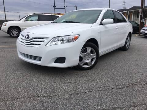 2010 Toyota Camry for sale at Georgia Car Shop in Marietta GA