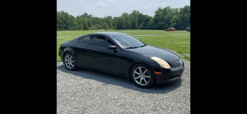 2006 Infiniti G35 for sale at QUALITY AUTOS in Newfoundland NJ