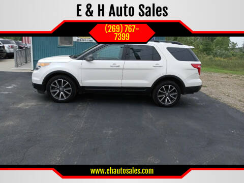 2015 Ford Explorer for sale at E & H Auto Sales in South Haven MI