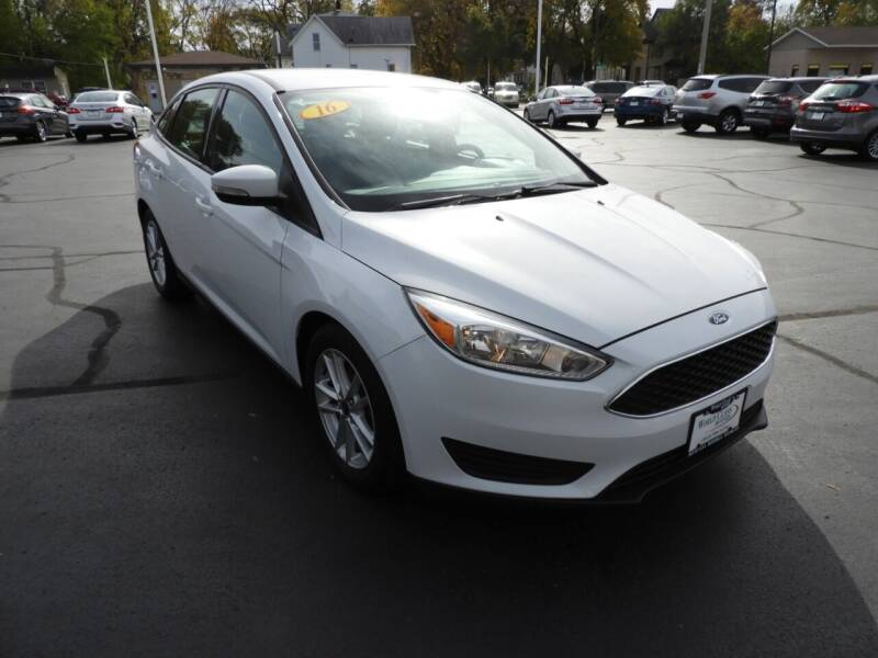 2016 Ford Focus for sale at Grant Park Auto Sales in Rockford IL