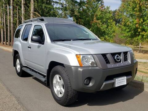 2007 Nissan Xterra for sale at CLEAR CHOICE AUTOMOTIVE in Milwaukie OR