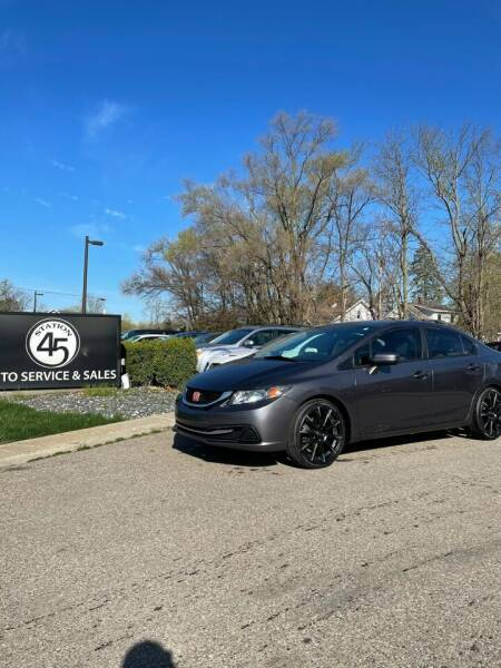 2014 Honda Civic for sale at Station 45 Auto Sales Inc in Allendale MI