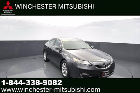2013 Acura TL for sale at Winchester Mitsubishi in Winchester VA