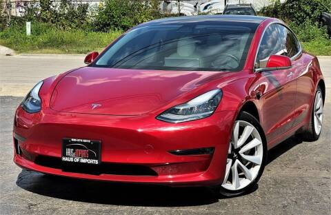 2019 Tesla Model 3 for sale at Haus of Imports in Lemont IL