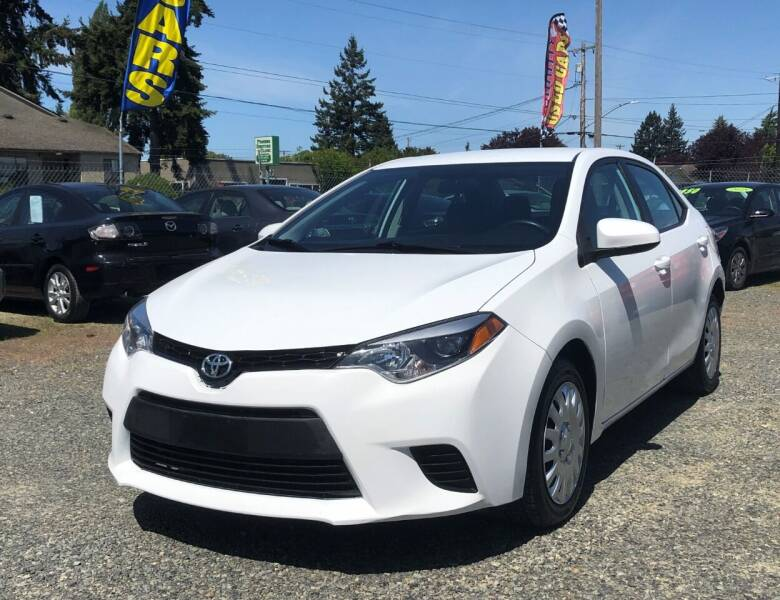 2014 Toyota Corolla for sale at A & V AUTO SALES LLC in Marysville WA