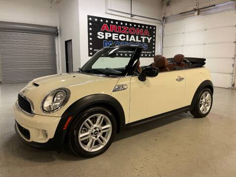 2015 MINI Convertible for sale at Arizona Specialty Motors in Tempe AZ