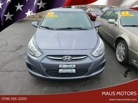 2017 Hyundai Accent for sale at MAUS MOTORS in Hazel Crest IL