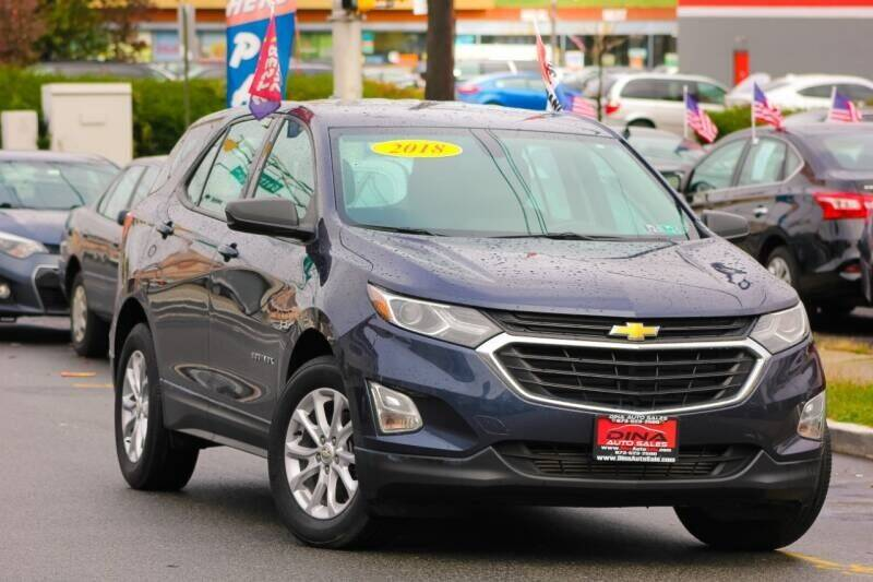 2018 Chevrolet Equinox for sale at Dina Auto Sales in Paterson NJ