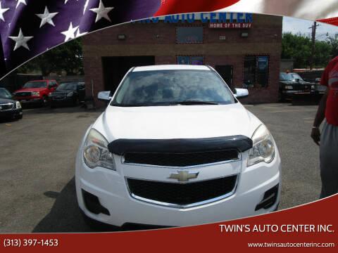 2010 Chevrolet Equinox for sale at Twin's Auto Center Inc. in Detroit MI