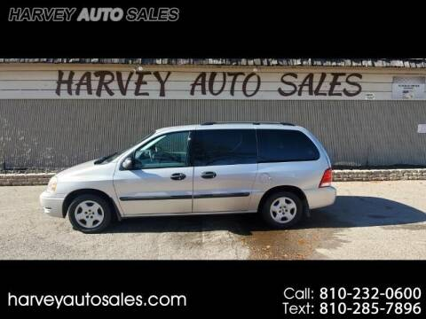 2004 Ford Freestar for sale at Harvey Auto Sales, LLC. in Flint MI
