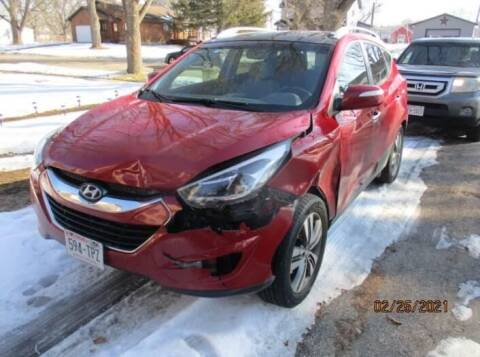 2015 Hyundai Tucson for sale at CousineauCrashed.com in Weston WI