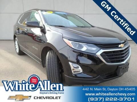 2018 Chevrolet Equinox for sale at WHITE-ALLEN CHEVROLET in Dayton OH