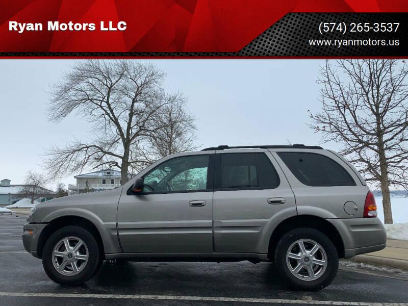 2003 Oldsmobile Bravada for sale at Ryan Motors LLC in Warsaw IN