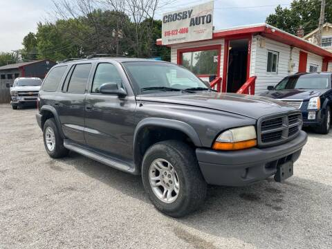 2003 Dodge Durango for sale at Crosby Auto LLC in Kansas City MO