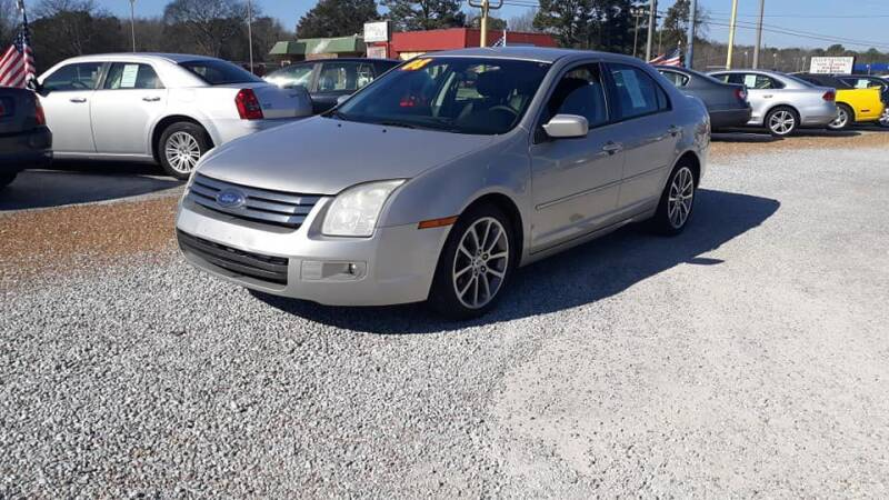 2008 Ford Fusion for sale at Space & Rocket Auto Sales in Hazel Green AL